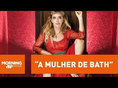 """""""Ela foi a primeira feminista"""", diz Maitê Proença sobre sua personagem na peça """"A Mulher de Bath"""""""