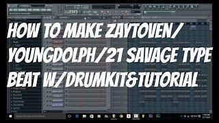How To Make A Zaytoven/Migos/Young Dolph/21 Savage BandoType Beat(DrumKits&Tutorial)