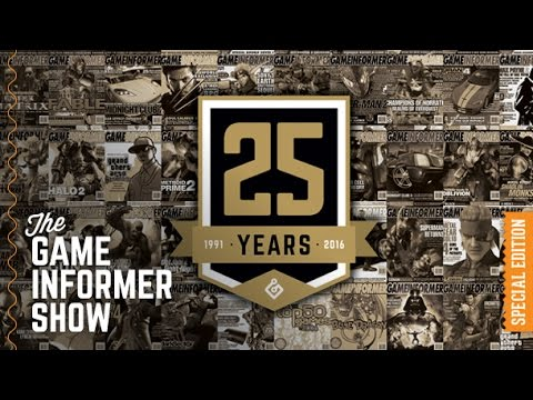 GI Show – Reliving 25 Years Of Game Informer History