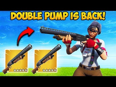 HOW TO DOUBLE PUMP IN SEASON 7! - Fortnite Funny Fails and WTF Moments! #446