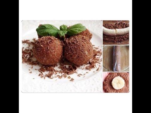 Творожный десерт с шоколадом