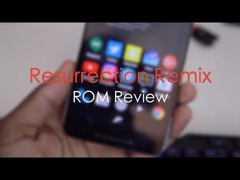 Resurrection Remix ROM Review