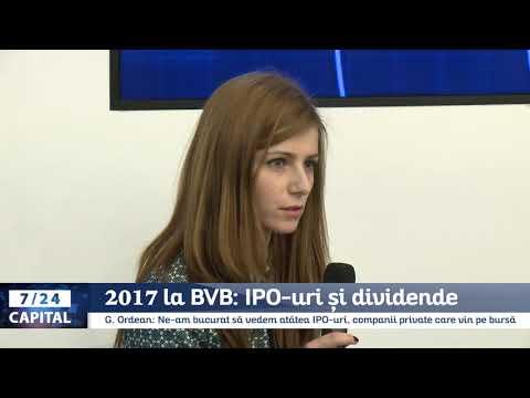 7/24 Capital: 2017 la Bursa de Valori București - IPO-uri și dividende