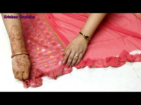 boutique-style-duptta-making-at-home-very-easy||diy-duptta