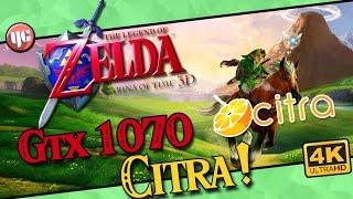 Zelda Ocarina Of Time 3D 4k IR Citra Comparison Gameplay