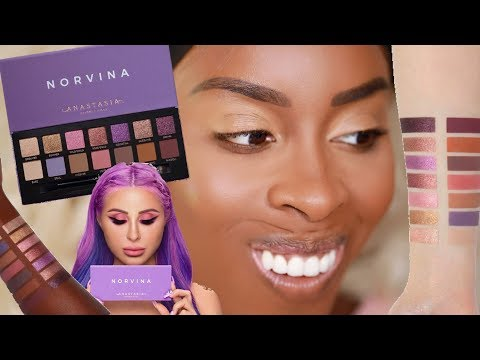 ABH Norvina Palette?! Watch This Review First!! | Jackie Aina