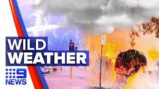 Perth's summer storm continues