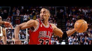 【バスケ】NBA史上最高のスモールフォワード!スコッティ・ピッペン【スーパープレー】 スコッティジェームス 検索動画 14