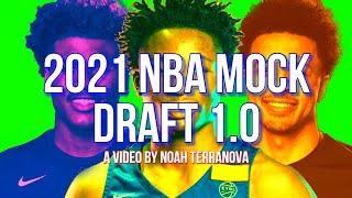 2021 NBA Mock Draft 1.0: [Cade Cunningham, Jalen Green, Jonathan Kuminga]