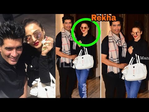 Shocking : Rekha after recent plastic surgery looks so young like 25 old actress: Proof Video