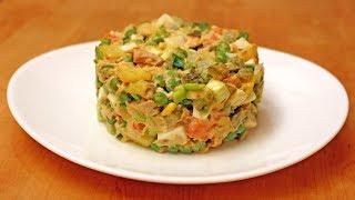 Салат с консервированным тунцом - Готовим вкусно и красиво