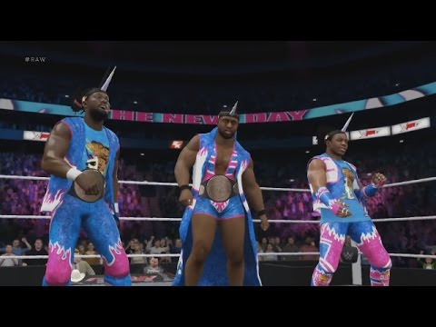WWE 2K17 Entrance trailer: The New Day