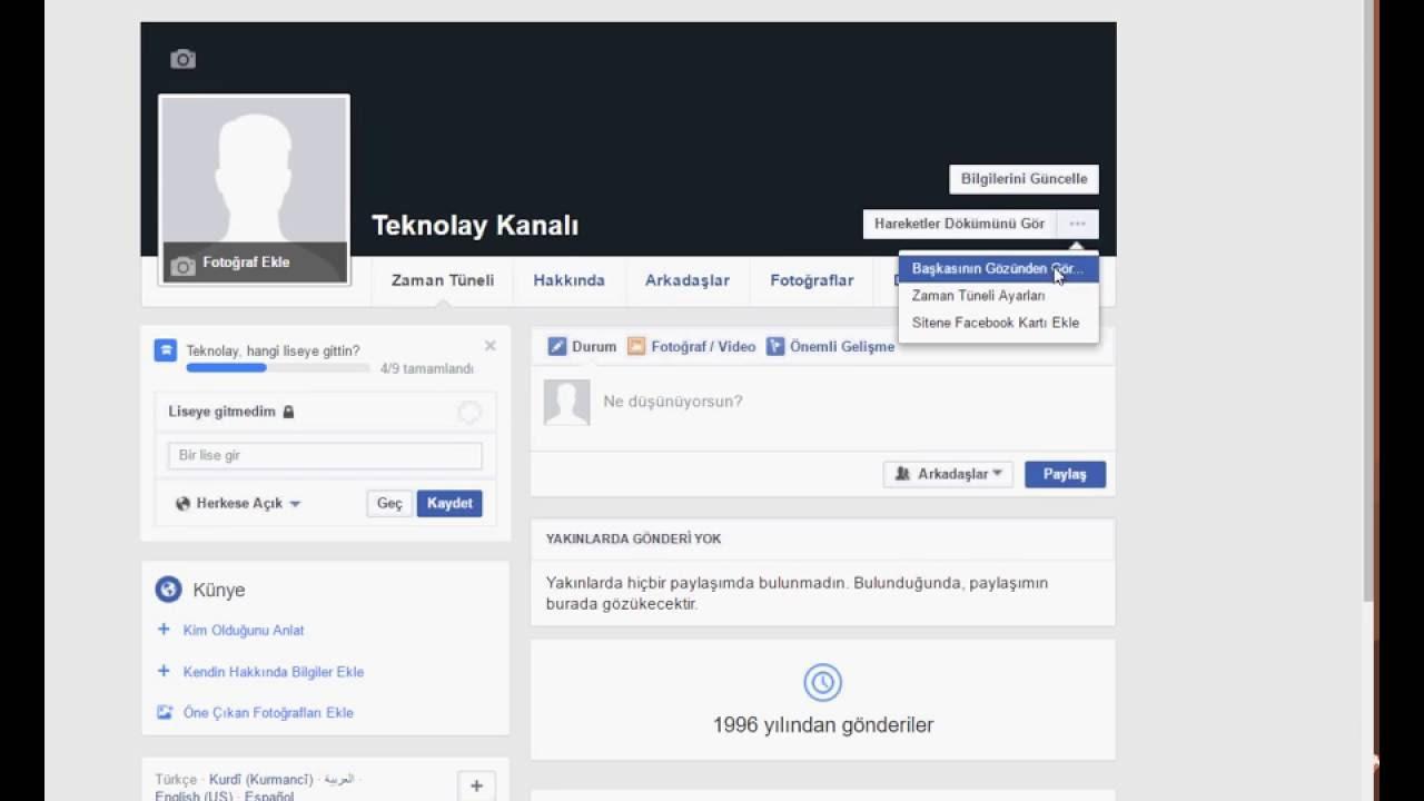 Facebook Takip Açma Kapatma Detaylı Anlatım - Sosyal Destek