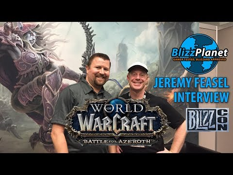 Blizzcon 2017 Interview w/ Jeremy Feasel | World of Warcraft: Battle for Azeroth, Blizzplanet
