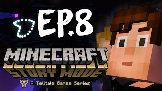 Minecraft: Story Mode - Эпизод 3 - Убили Иссушителя! #8