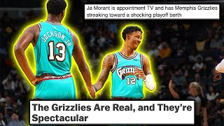 Ja Morant And The Memphis Grizzlies Are The NBA's New Favorite Team