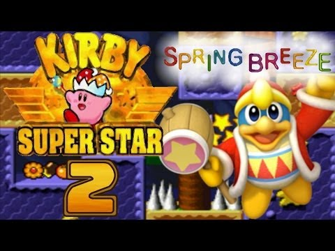 Lets Play Kirby Super Star - Part 2 - Springbreeze