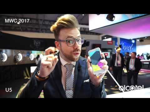 Alcatel mobile MWC 2017 booth tour
