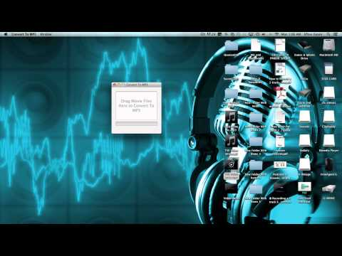 How to Covert Quicktime Movies to .mp3 files
