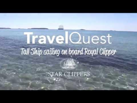 Tall Ship Sailing on board Royal Clipper