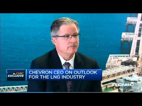 Chevron CEO talks about the future of LNG