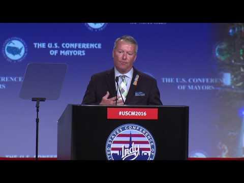 FULL: Orlando Mayor Buddy Dyer speaks at Indianapolis Mayor Conference