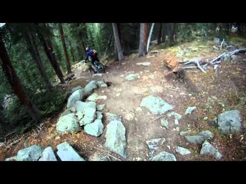 Mountain Bike Ride Part 2 - Jefferson, Park County toTiger Run, Summit County