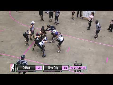 WFTDA Roller Derby: 2014 Championships  Rose City Rollers vs. Gotham Girls Roller Derby