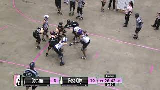 WFTDA Roller Derby: 2014 Championships - Rose City Rollers vs. Gotham Girls Roller Derby