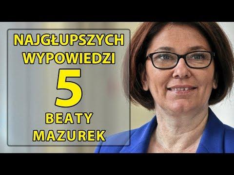 5 najgłupszych wypowiedzi Beaty Mazurek.