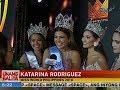 UB: Pageant veteran na si Katarina Rodriguez, kinoronahang Miss World Philippines 2018