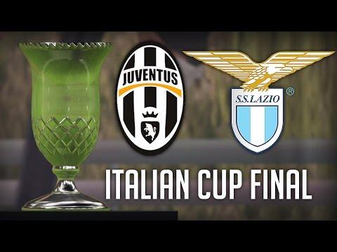 Juventus VS Lazio 17/5/17 - Coppa Italia Final 2017 (FIFA 17 Highlights)