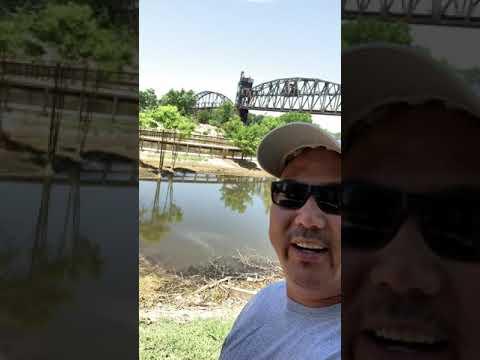 Kenjo's Adventure - Bill Clinton Library- Riverwalk Park - Little Rock
