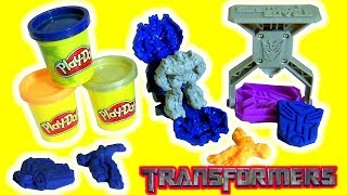 Play Doh Transformers The Last Knight Stampers by BTC Toys Club