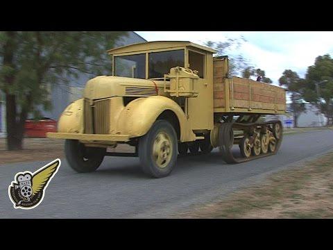 WW2 German Half-Track Maultier (Replica)