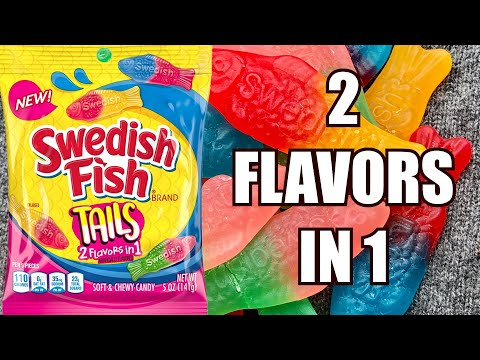 Swedish Fish Tails Has 2 Flavors In 1