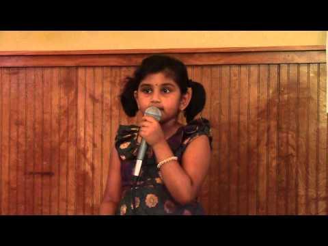 Medha singing rama rama from sivamani