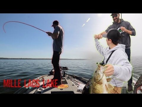 Fishing With A Foreigner (Mille Lacs Lake)