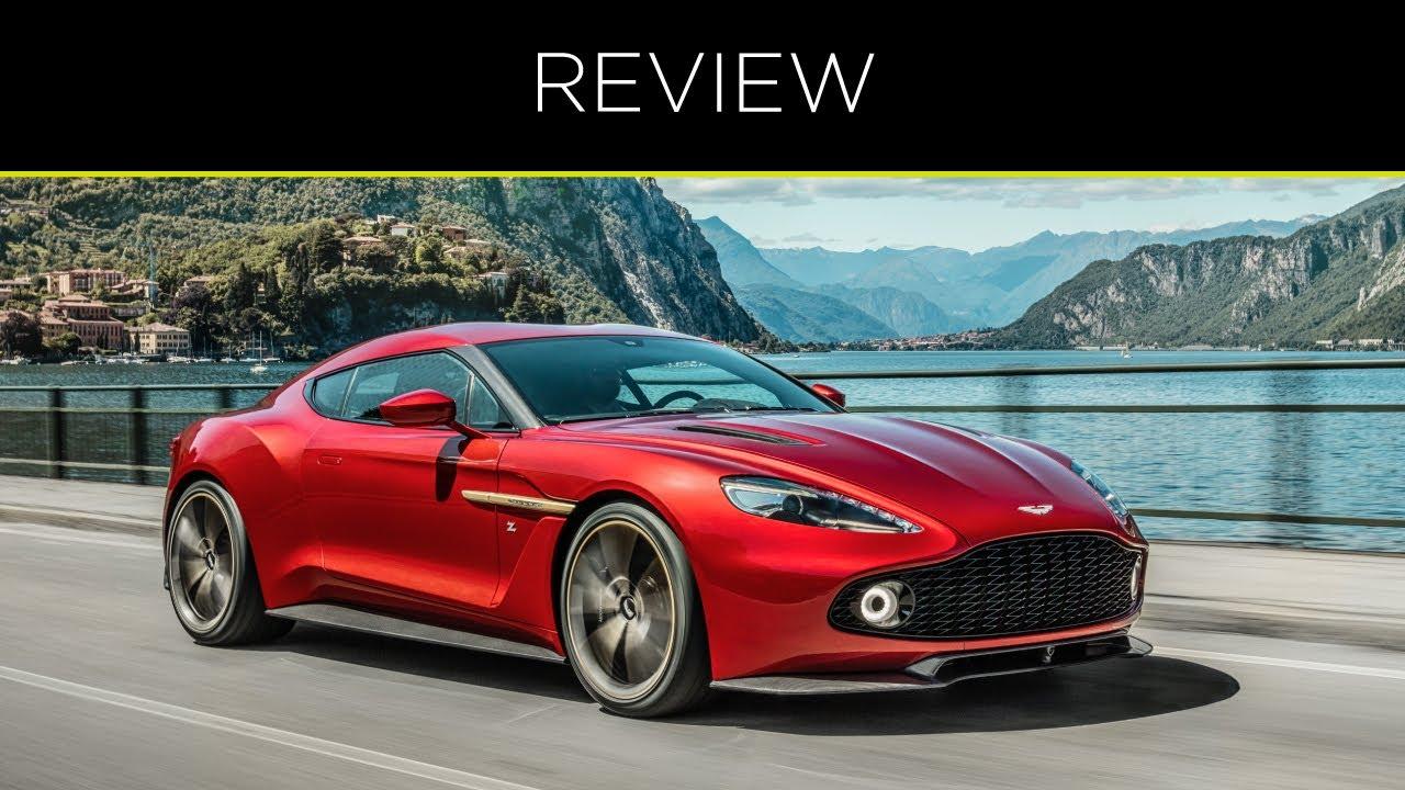 Aston Martin Vanquish Zagato Speedster Youtube