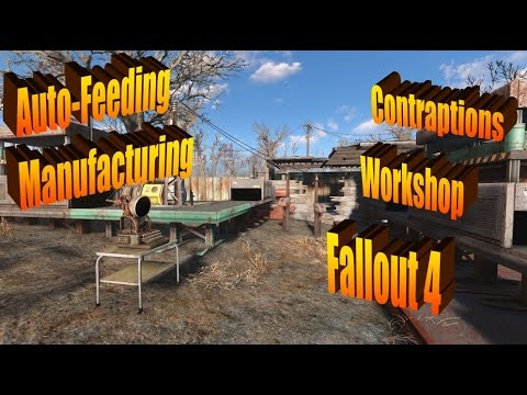 Auto-Feeding Manufacturing in Fallout 4