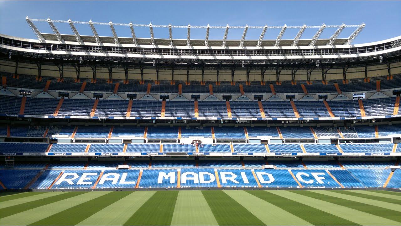 Real Madrid Stadium Tour Youtube