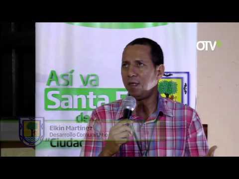 Santa Fe de  Antioquia  Presente  En El Desarrollo Del  Campo