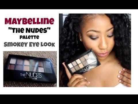 """❤ Maybelline """"The Nudes""""⎮Smokey Eye Look"""