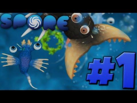 BATTLE FOR SURVIVAL!!!-Spore Ep. #1 thumbnail