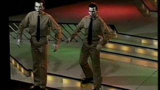 "Los Robots Humanos | We are the robots - Kraftwerk (1991, ""Telemanías"", Cba, Argentina)"