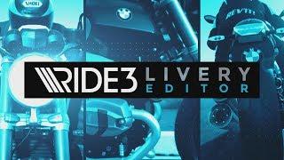 RIDE 3 - Livery Editor Trailer