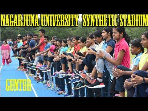 Acharya Nagarjuna University  Synthetic Stadium At Guntur Andhra Pradesh