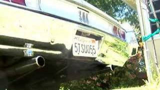 1965 Chrysler 300 383 Exhaust