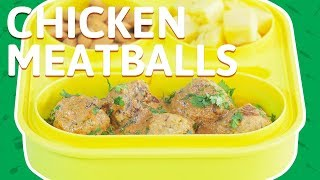 Chicken Meatballs | Chinese Fried Rice With Chicken Meatballs | Tiffin Recipe For Recipe