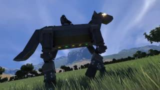 Noble Steed | Horse Mech - Space Engineers